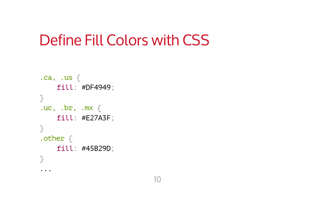Define Fill Colors with CSS . c a , . u s { f i...
