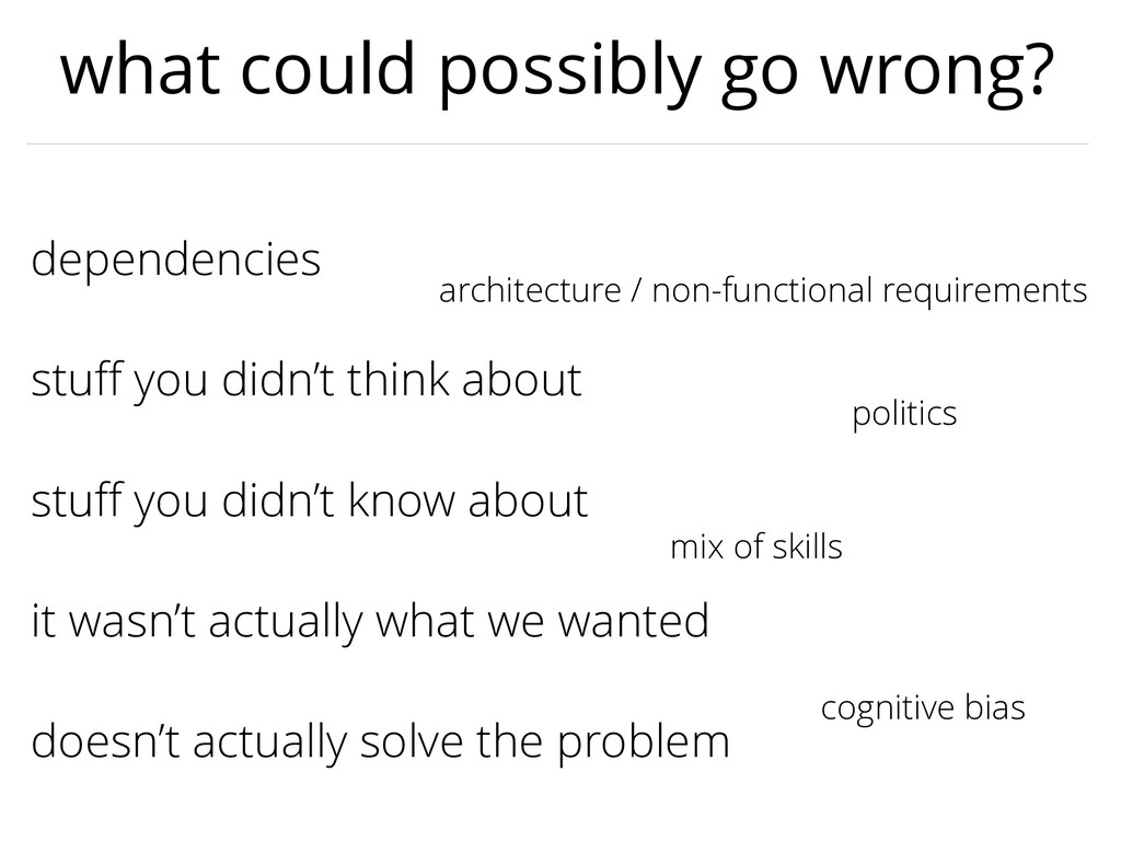 stuff you didn't know about dependencies stuff yo...