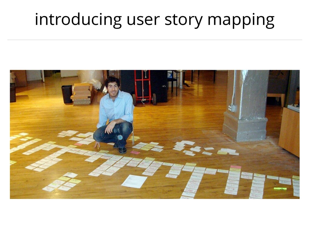 introducing user story mapping