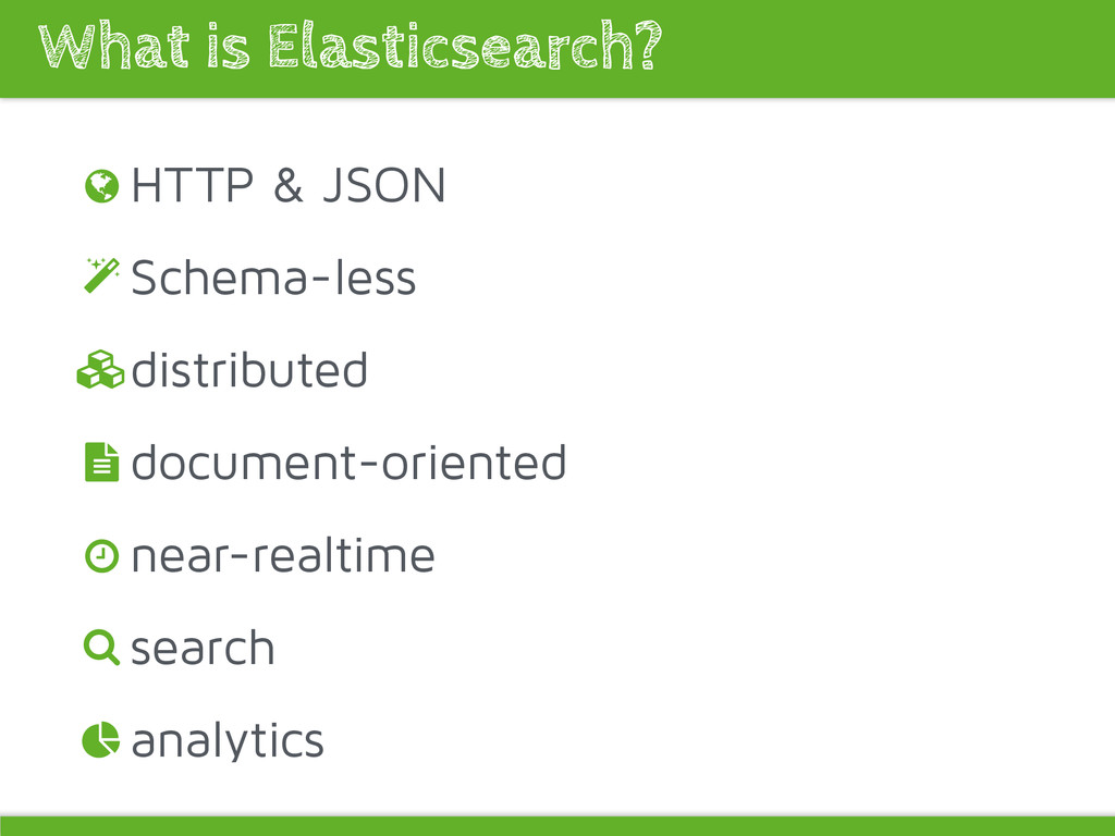 HTTP & JSON Schema-less distributed document-or...