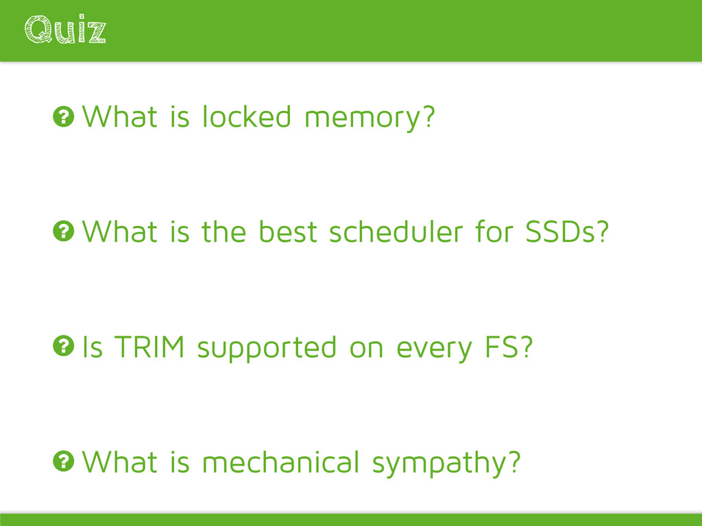 What is locked memory? What is the best schedul...