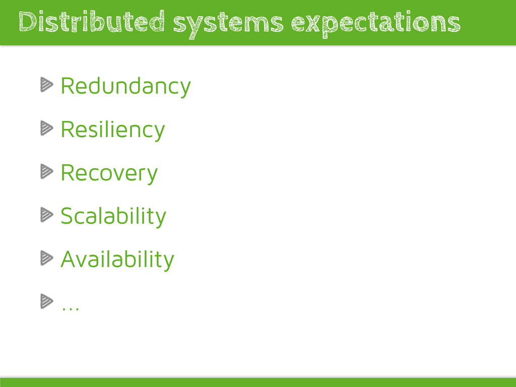 Redundancy Resiliency Recovery Scalability Avai...