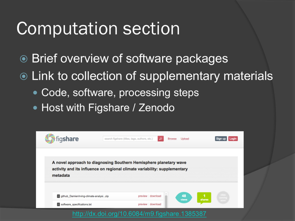 ž Brief overview of software packages ž Link to...