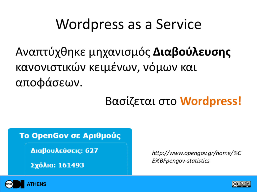 Wordpress as a Service Αναπτύχθηκε μηχανισμός Δ...