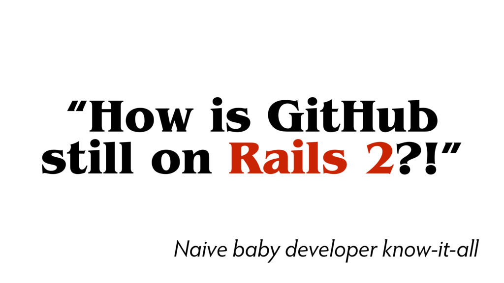 """How is GitHub 