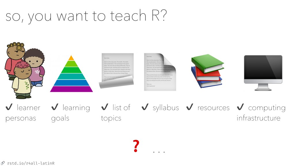 rstd.io/r4all-latinR so, you want to teach R? ...
