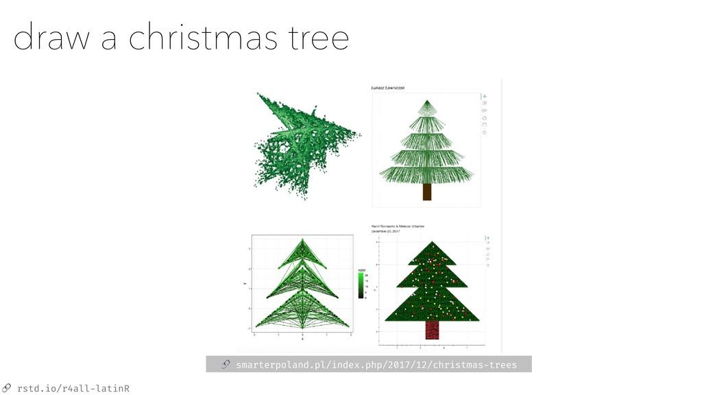 rstd.io/r4all-latinR draw a christmas tree  sm...