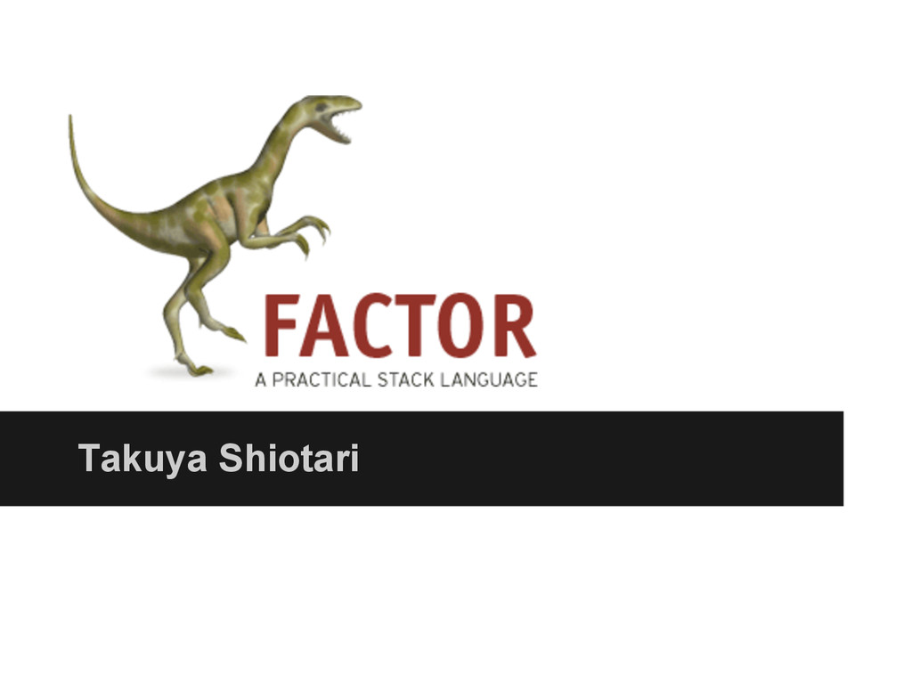 Takuya Shiotari