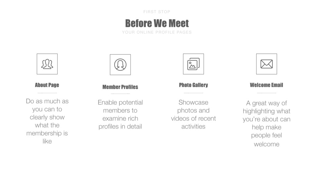 Before We Meet FIRST STOP YOUR ONLINE PROFILE P...