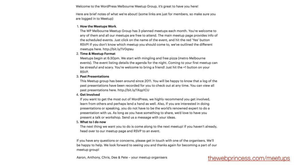 thewebprincess.com/meetups