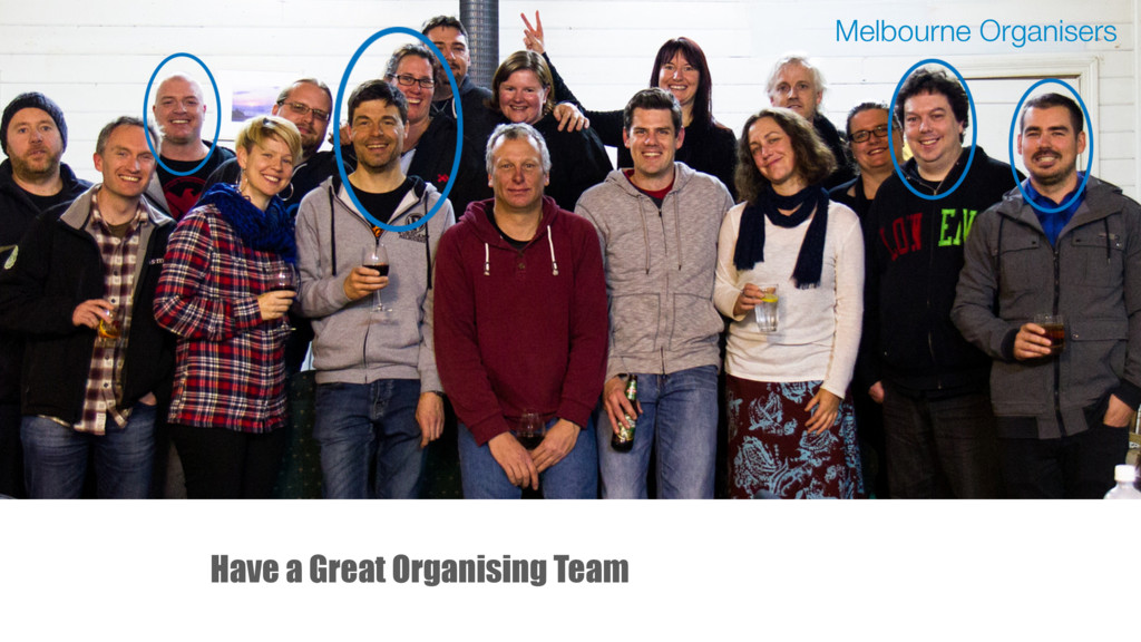 Have a Great Organising Team Melbourne Organise...