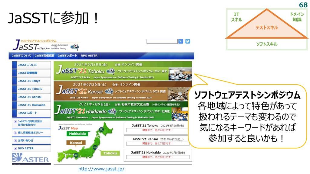 JaSSTに参加! http://www.jasst.jp/ ソフトウェアテストシンポジウム ...