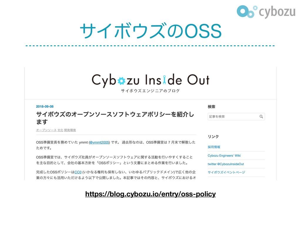 αΠϘζͷ044 https://blog.cybozu.io/entry/oss-poli...