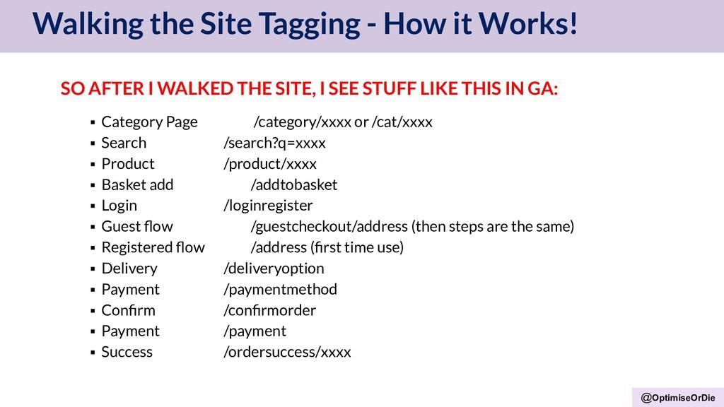 @OptimiseOrDie Walking the Site Tagging - How i...