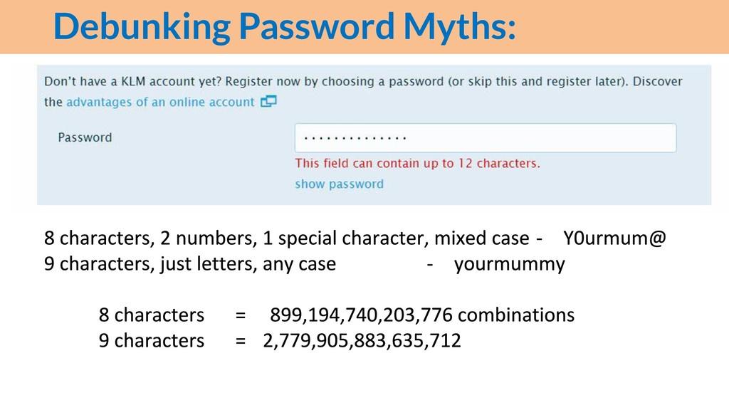 Debunking Password Myths: