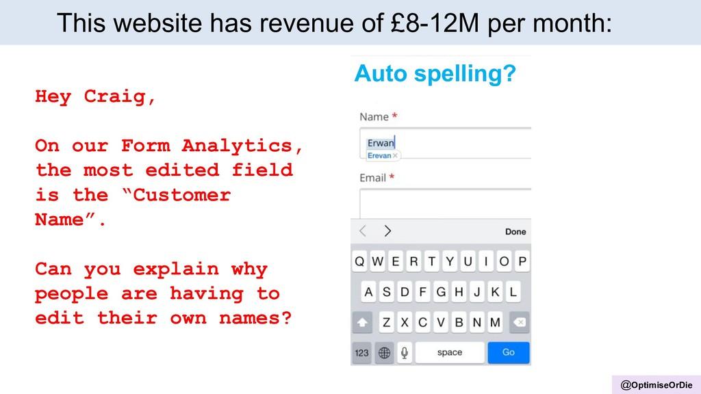 @OptimiseOrDie This website has revenue of £8-1...