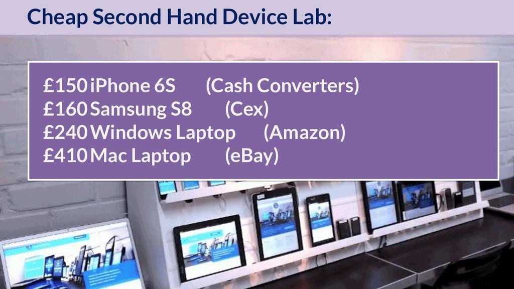 OptimiseOrDie £150iPhone 6S (Cash Converters) £...