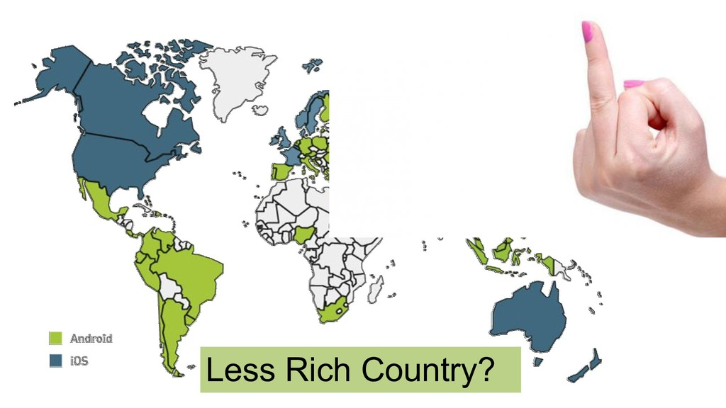 Less Rich Country?
