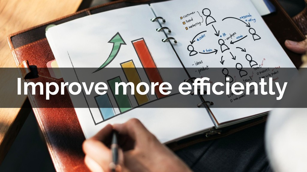 Improve more efficiently
