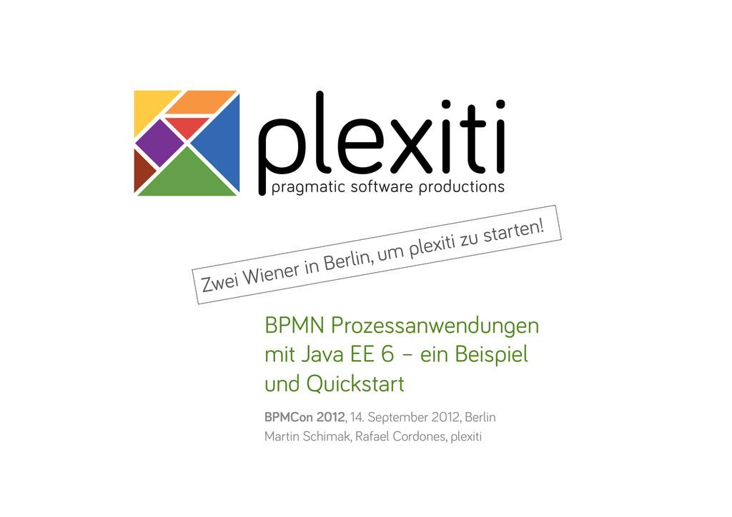 plexiti pra matic software productions BPMN Pro...