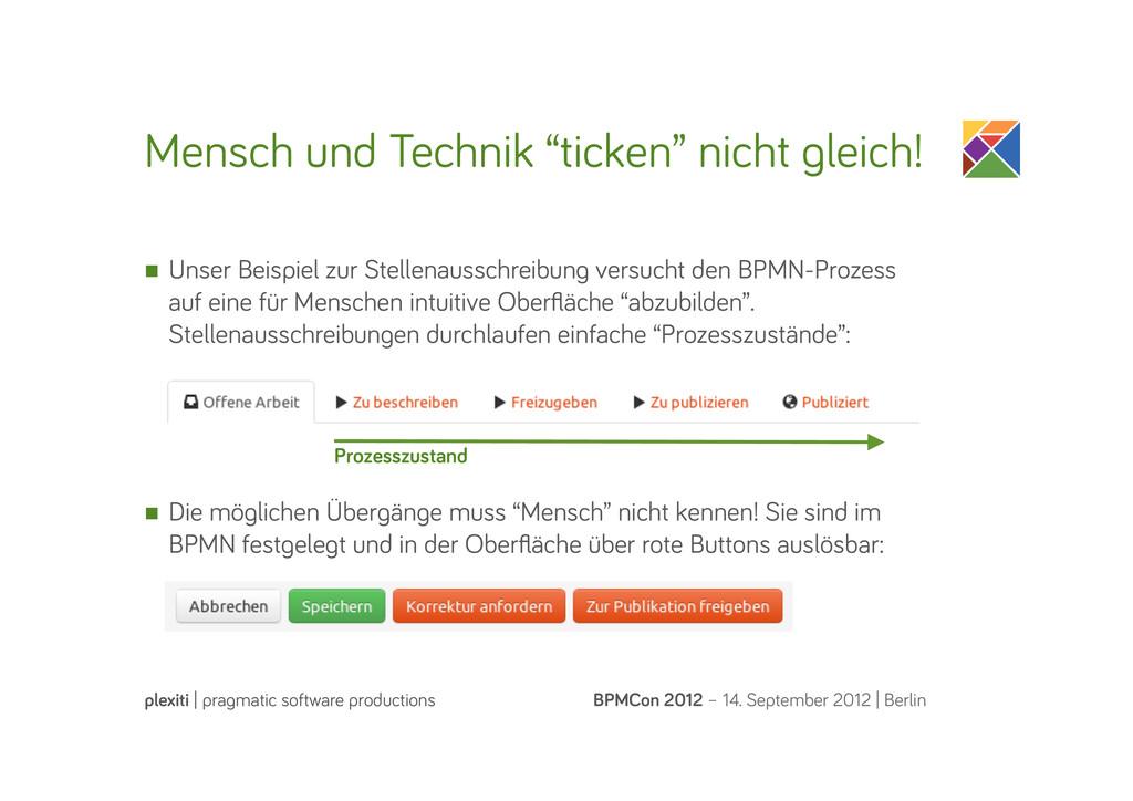 """Mensch und Technik """"ticken"""" nicht leich! BPMCon..."""