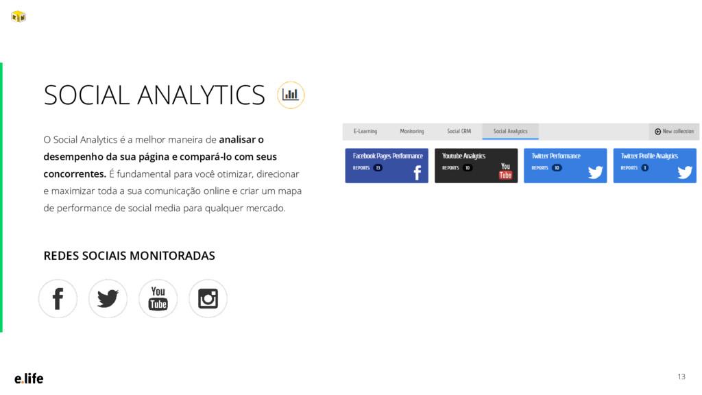13 O Social Analytics é a melhor maneira de ana...