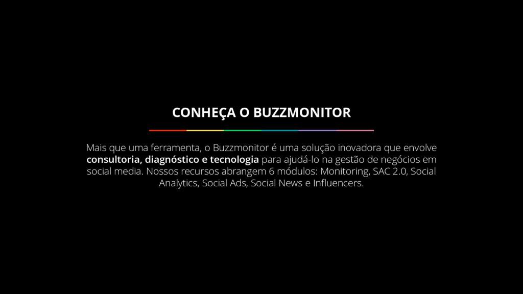 Mais que uma ferramenta, o Buzzmonitor é uma so...