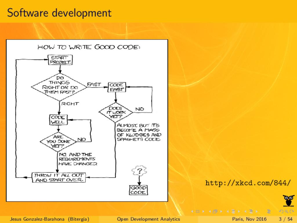 Software development http://xkcd.com/844/ Jesus...