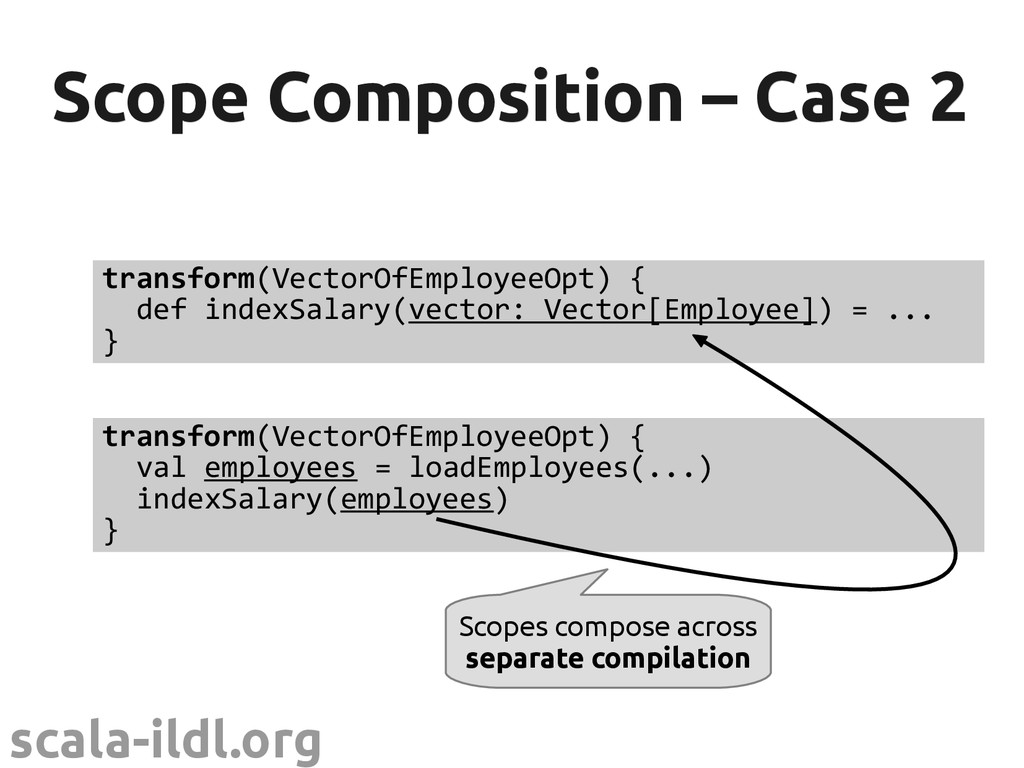 scala-ildl.org // in another file, compiled sep...