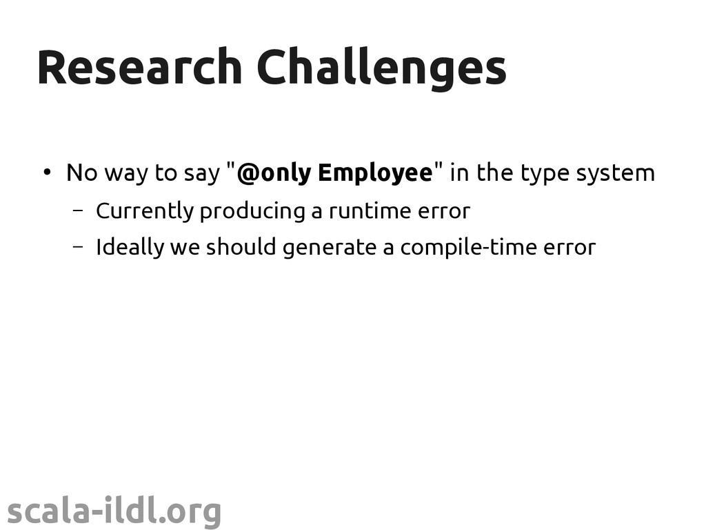 scala-ildl.org Research Challenges Research Cha...