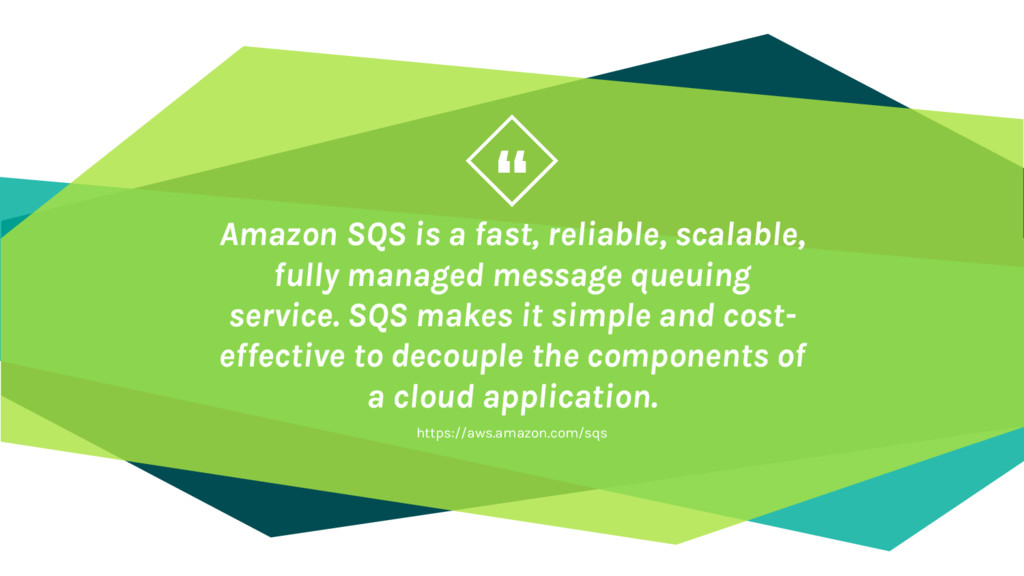 """"""" Amazon SQS is a fast, reliable, scalable, ful..."""