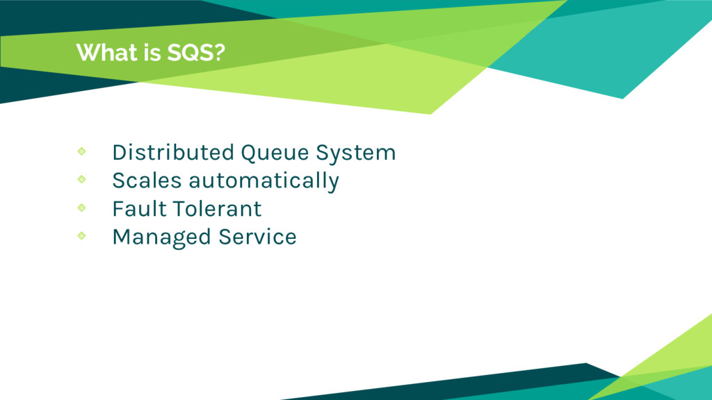 What is SQS? Distributed Queue System Scales au...