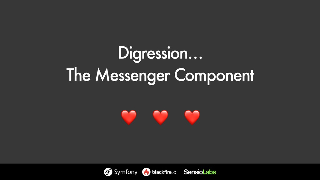 Digression… The Messenger Component ❤ ❤ ❤