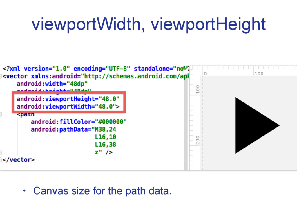 viewportWidth, viewportHeight • Canvas size for...