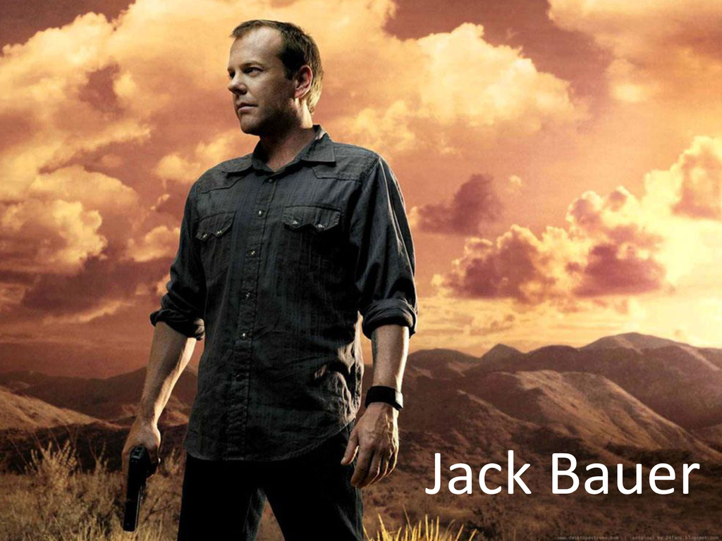 © Microsoft Corporation Jack Bauer