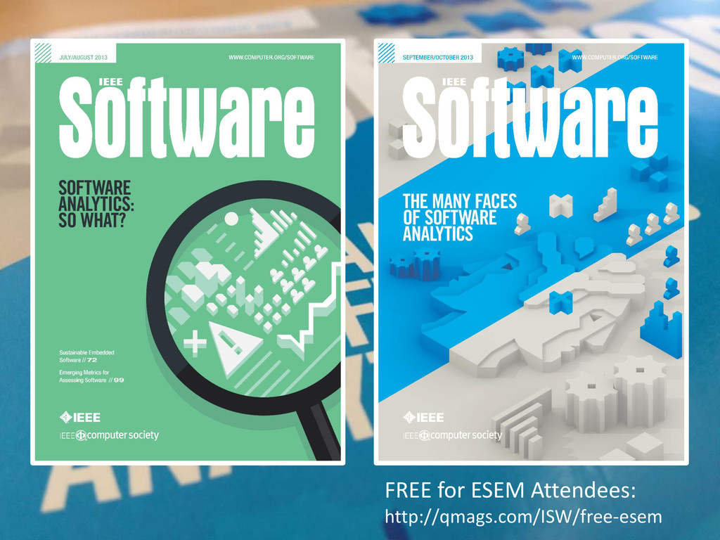© Microsoft Corporation FREE for ESEM Attendees...