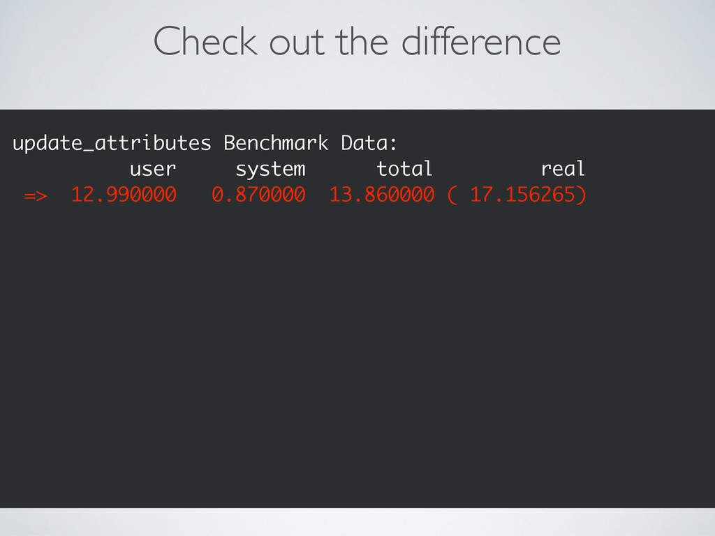Check out the difference update_attributes Benc...