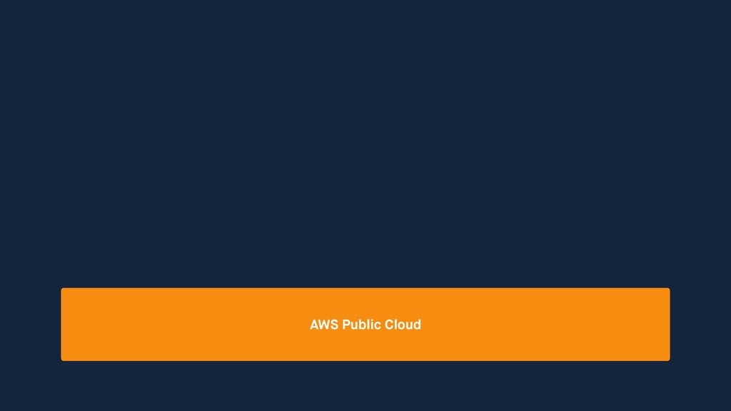 AWS Public Cloud