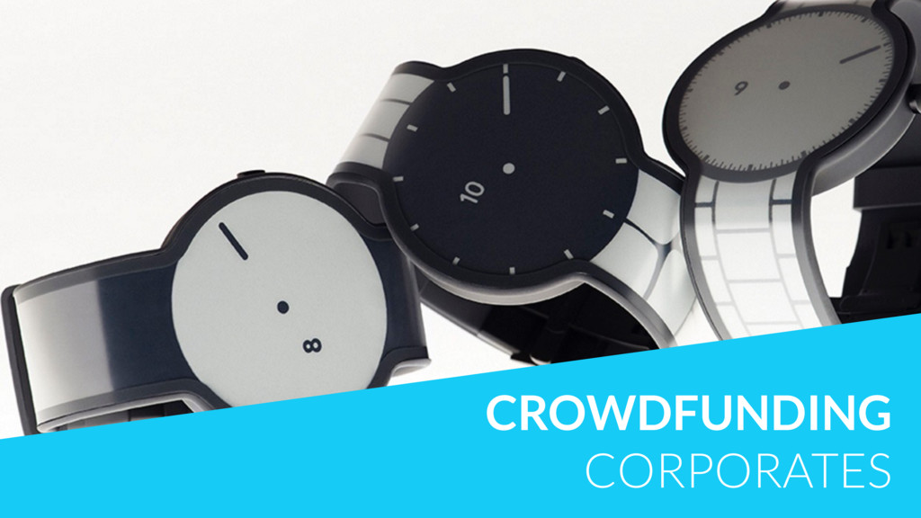 CROWDFUNDING CORPORATES
