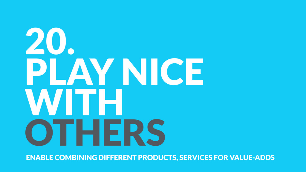 20. PLAY NICE WITH OTHERS ENABLE COMBINING DIFF...