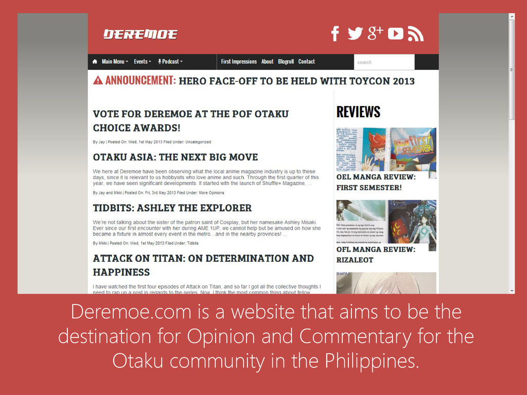 Deremoe.com is a website that aims to be the de...