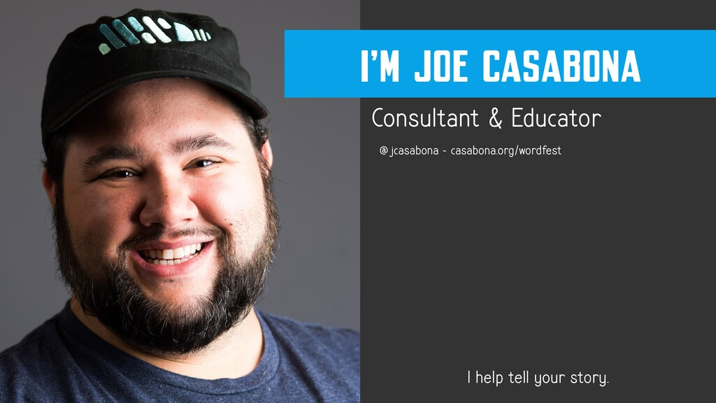 Consultant & Educator I help tell your story. @...