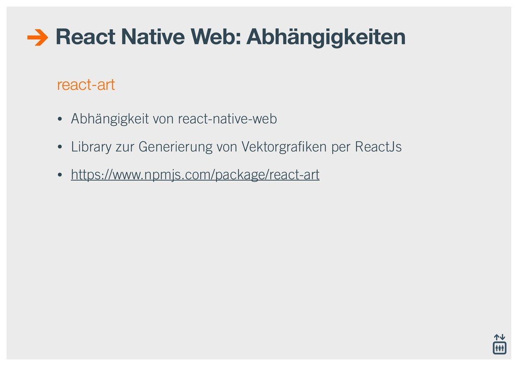 react-art • Abhängigkeit von react-native-web •...