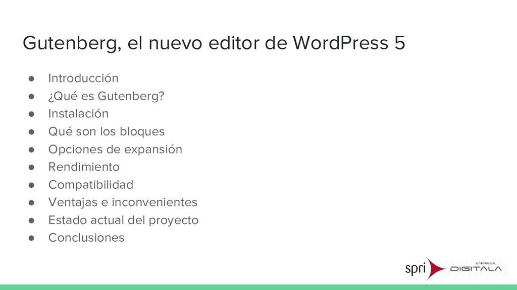 Gutenberg, el nuevo editor de WordPress 5 ● Int...