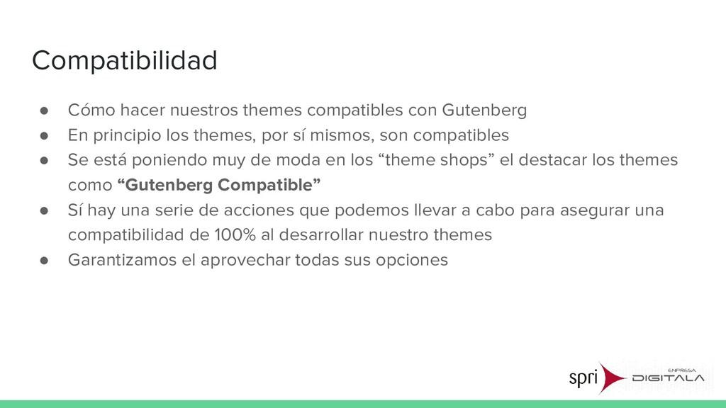 Compatibilidad ● Cómo hacer nuestros themes com...