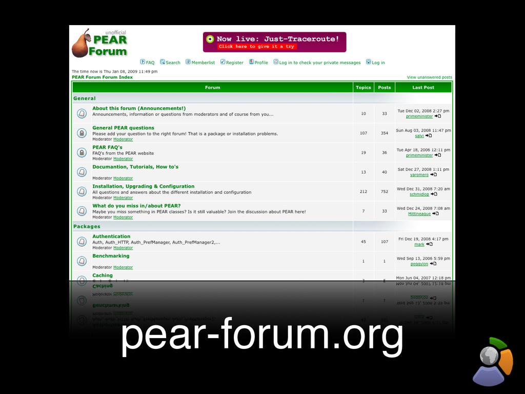 pear-forum.org