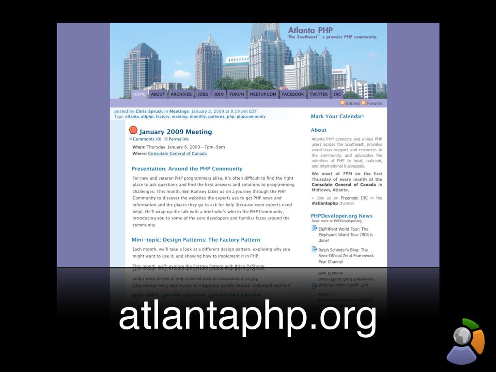 atlantaphp.org