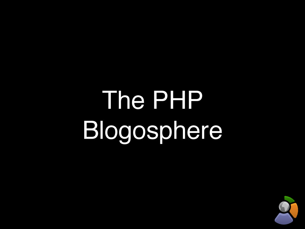 The PHP Blogosphere