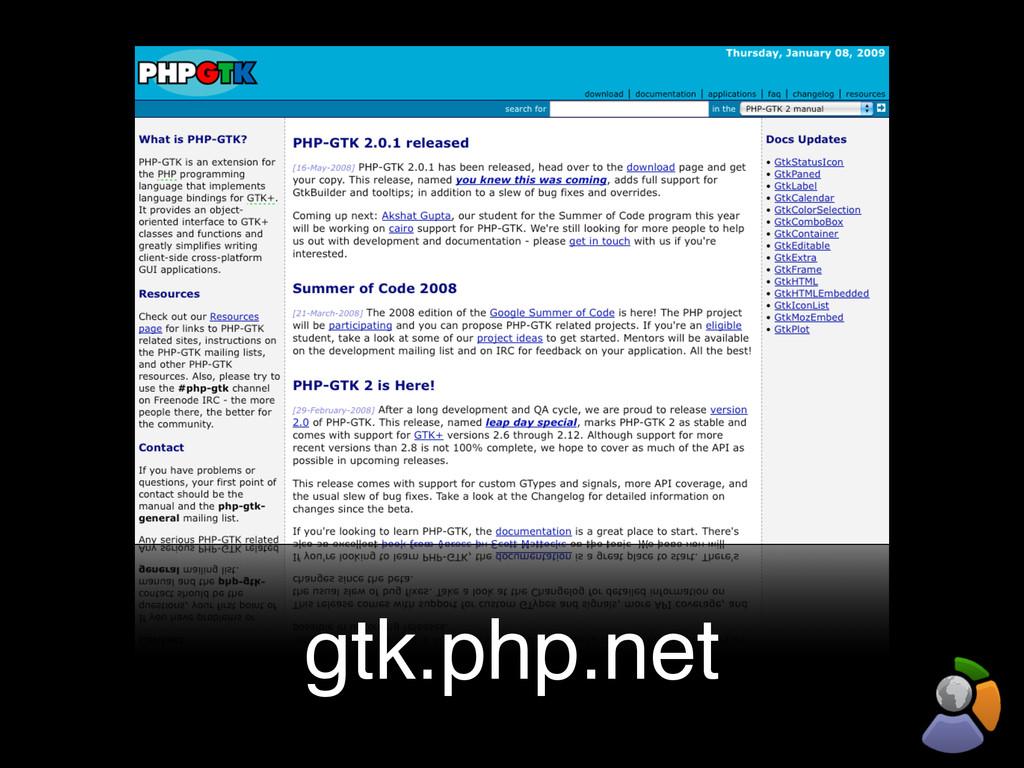 gtk.php.net