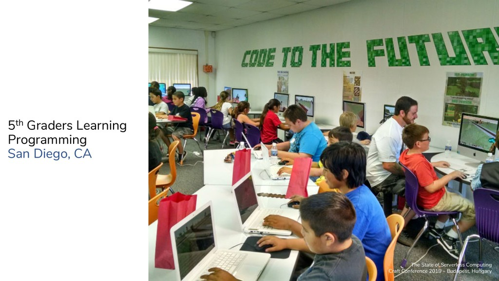 5th Graders Learning Programming San Diego, CA ...